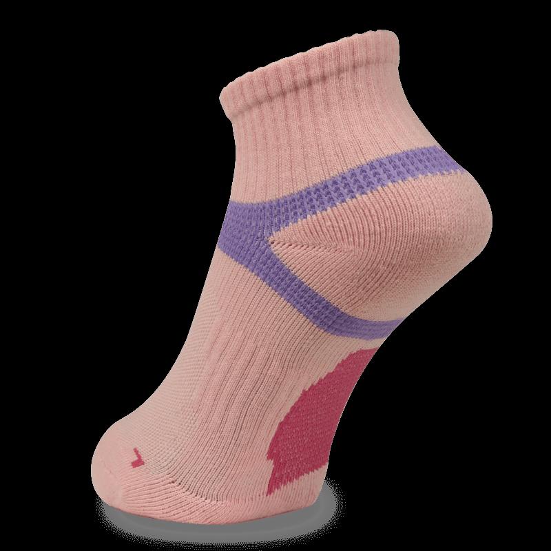 NAVIWEAR SPORT 慢跑襪 運動短襪 粉紫 m2