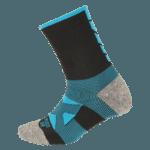 NAVIWEAR SPORT 壓力運動襪 黑藍 籃球襪 1