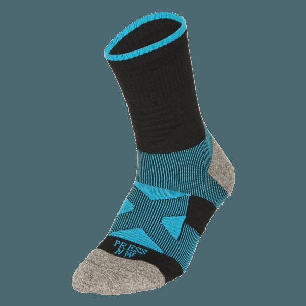 NAVIWEAR SPORT 壓力運動襪 黑藍 籃球襪 2