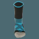NAVIWEAR SPORT 壓力運動襪 黑藍 籃球襪 3