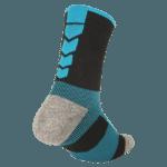 NAVIWEAR SPORT 壓力運動襪 黑藍 籃球襪 6