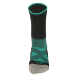 NAVIWEAR SPORT 壓力運動襪 黑綠 籃球襪 3