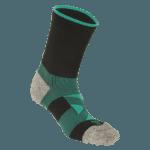 NAVIWEAR SPORT 壓力運動襪 黑綠 籃球襪 4