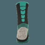 NAVIWEAR SPORT 壓力運動襪 黑綠 籃球襪 5