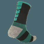 NAVIWEAR SPORT 壓力運動襪 黑綠 籃球襪 6
