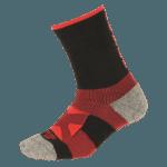 NAVIWEAR SPORT 壓力運動襪 黑紅 籃球襪 1