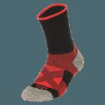 NAVIWEAR SPORT 壓力運動襪 黑紅 籃球襪 2