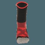 NAVIWEAR SPORT 壓力運動襪 黑紅 籃球襪 3