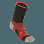 NAVIWEAR SPORT 壓力運動襪 黑紅 籃球襪 4