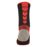 NAVIWEAR SPORT 壓力運動襪 黑紅 籃球襪 5