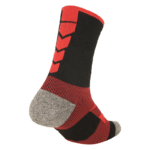 NAVIWEAR SPORT 壓力運動襪 黑紅 籃球襪 6