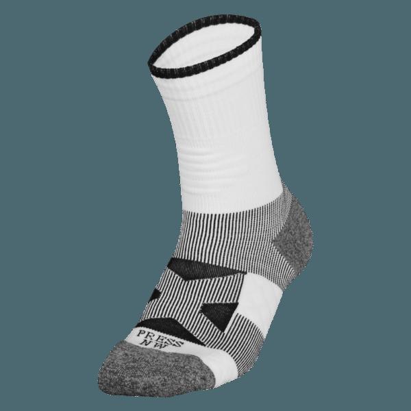 NAVIWEAR SPORT 壓力運動襪 白黑 籃球襪 2