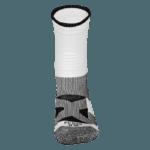 NAVIWEAR SPORT 壓力運動襪 白黑 籃球襪 3