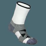 NAVIWEAR SPORT 壓力運動襪 白黑 籃球襪 4