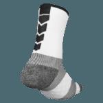 NAVIWEAR SPORT 壓力運動襪 白黑 籃球襪 6