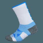 NAVIWEAR SPORT 壓力運動襪 白藍 籃球襪 1