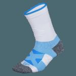 NAVIWEAR SPORT 壓力運動襪 白藍 籃球襪 2