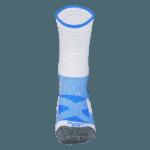 NAVIWEAR SPORT 壓力運動襪 白藍 籃球襪 3
