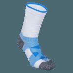 NAVIWEAR SPORT 壓力運動襪 白藍 籃球襪 4
