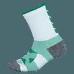 NAVIWEAR SPORT 壓力運動襪 白綠 籃球襪 1