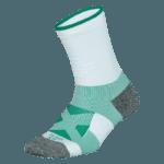 NAVIWEAR SPORT 壓力運動襪 白綠 籃球襪 2