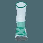 NAVIWEAR SPORT 壓力運動襪 白綠 籃球襪 3