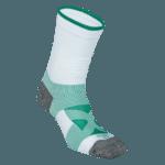 NAVIWEAR SPORT 壓力運動襪 白綠 籃球襪 4