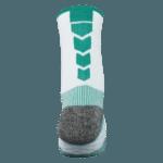 NAVIWEAR SPORT 壓力運動襪 白綠 籃球襪 5