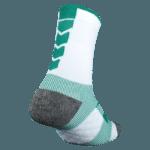 NAVIWEAR SPORT 壓力運動襪 白綠 籃球襪 6